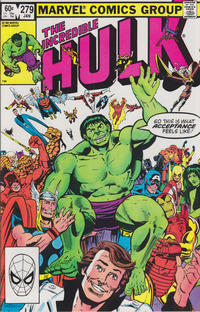 Cover Thumbnail for The Incredible Hulk (Marvel, 1968 series) #279 [Direct Edition]