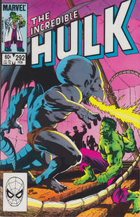 Cover Thumbnail for The Incredible Hulk (Marvel, 1968 series) #292 [Direct Edition]