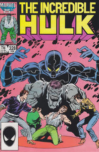 Cover Thumbnail for The Incredible Hulk (Marvel, 1968 series) #328 [Direct Edition]