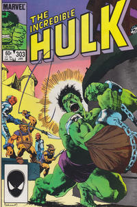 Cover Thumbnail for The Incredible Hulk (Marvel, 1968 series) #303 [Direct]