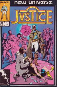 Cover Thumbnail for Justice (Marvel, 1986 series) #1 [Direct]