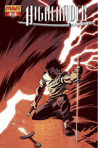 Cover Thumbnail for Highlander (Dynamite Entertainment, 2006 series) #11 [Michael Avon Oeming Cover]