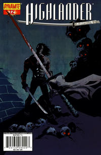 Cover Thumbnail for Highlander (Dynamite Entertainment, 2006 series) #12 [Cover A Michael Avon Oeming]