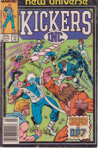 Cover Thumbnail for Kickers, Inc. (Marvel, 1986 series) #5 [Newsstand Edition]