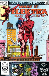 Cover Thumbnail for What If? (Marvel, 1977 series) #35 [Direct]