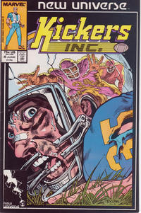 Cover Thumbnail for Kickers, Inc. (Marvel, 1986 series) #8 [Direct Edition]