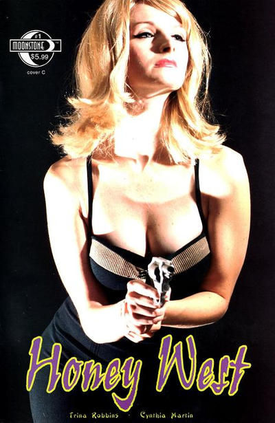 Cover for Honey West (Moonstone, 2010 series) #1 [Cover A - Malcolm McClinton]