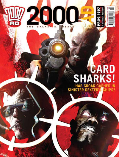 Cover for 2000 AD (Rebellion, 2001 series) #1697