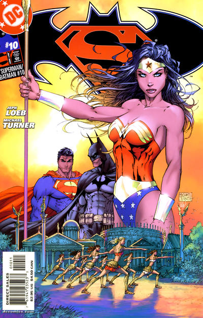 Cover for Superman / Batman (DC, 2003 series) #10 [Direct Sales Michael Turner Cover]