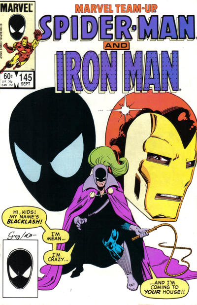 Cover for Marvel Team-Up (Marvel, 1972 series) #145 [Direct Edition]