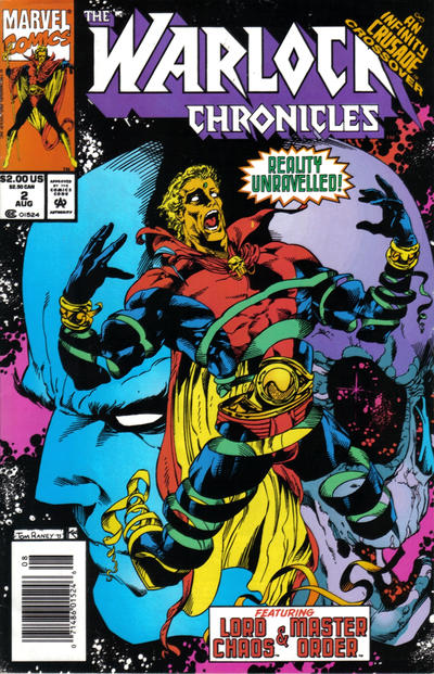 Cover for Warlock Chronicles (Marvel, 1993 series) #2 [Direct Edition]