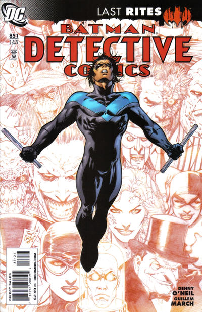 Cover for Detective Comics (DC, 1937 series) #851 [Standard Cover]