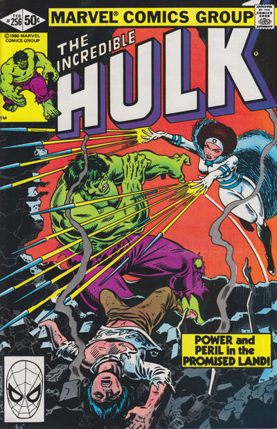Cover for The Incredible Hulk (Marvel, 1968 series) #256 [Direct]