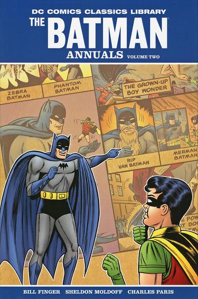 Cover for DC Comics Classics Library: The Batman Annuals (DC, 2009 series) #2