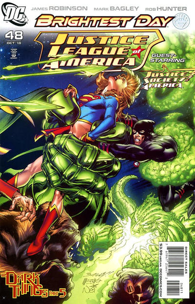 Cover for Justice League of America (DC, 2006 series) #48 [Ryan Sook Variant Cover]