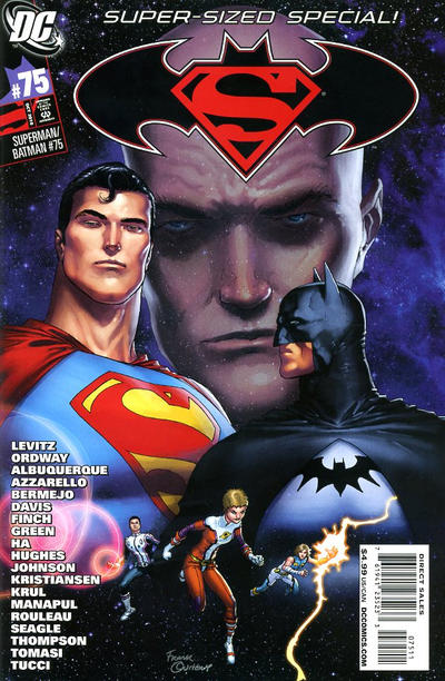 Cover for Superman / Batman (DC, 2003 series) #75