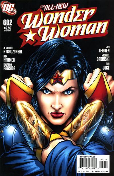 Cover for Wonder Woman (DC, 2006 series) #602 [Alex Garner Variant]