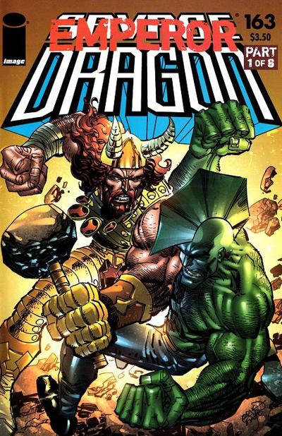 Cover for Savage Dragon (Image, 1993 series) #163