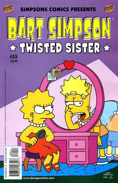 Cover for Simpsons Comics Presents Bart Simpson (Bongo, 2000 series) #55