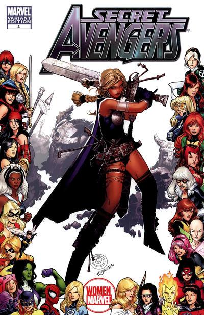 Cover for Secret Avengers (Marvel, 2010 series) #4 [Mike Deodato Variant Cover]