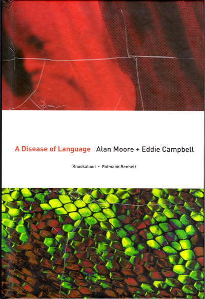 Cover for A Disease of Language (Knockabout, 2005 series)