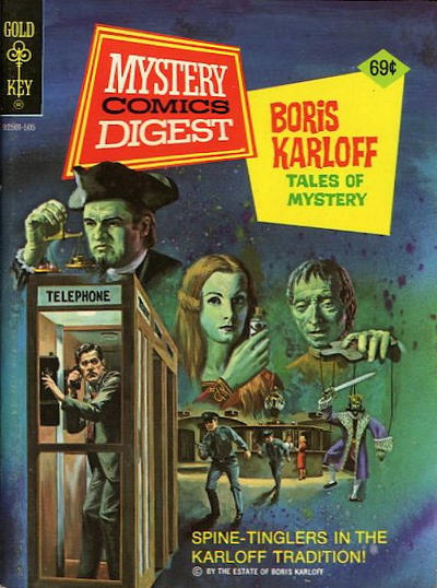 Cover for Mystery Comics Digest (Western, 1972 series) #23 [Whitman]