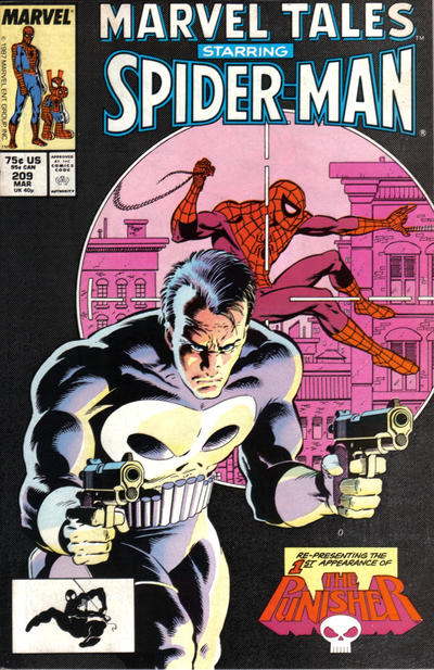 Cover for Marvel Tales (Marvel, 1966 series) #209 [Direct Edition]