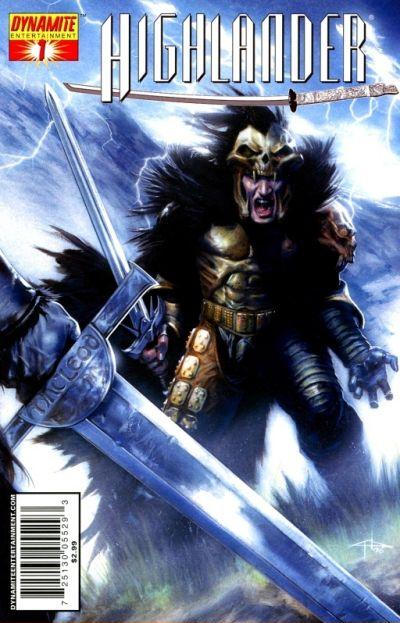 Cover for Highlander (Dynamite Entertainment, 2006 series) #1 [Sketch RI]