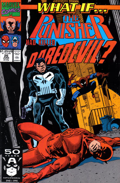 Cover for What If...? (Marvel, 1989 series) #26 [Newsstand]