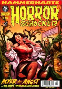 Cover for Horrorschocker (Weissblech Comics, 2004 series) #22