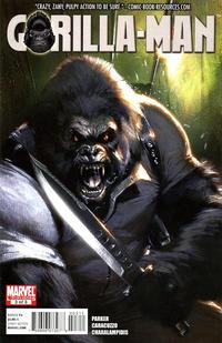 Cover Thumbnail for Gorilla Man (Marvel, 2010 series) #3