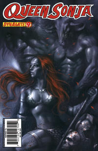 Cover Thumbnail for Queen Sonja (Dynamite Entertainment, 2009 series) #9 [Lucio Parrillo Cover]