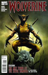 Cover Thumbnail for Wolverine (Marvel, 2010 series) #1 [Jae Lee Cover]