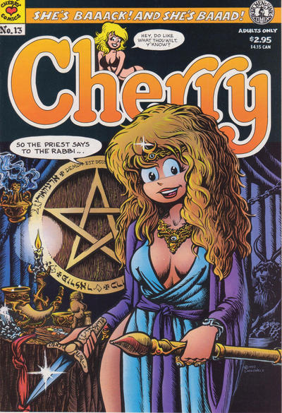 Cover for Cherry (Kitchen Sink Press, 1993 series) #13