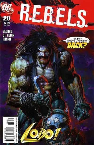 Cover for R.E.B.E.L.S. (DC, 2009 series) #20