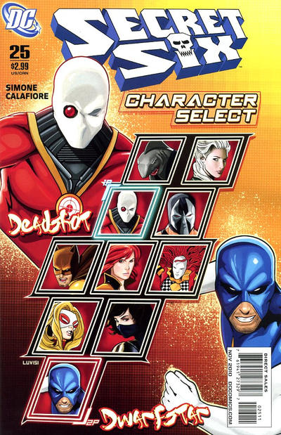 Cover for Secret Six (DC, 2008 series) #25
