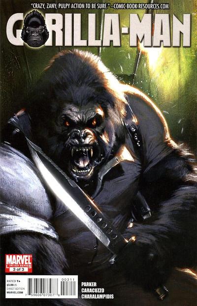 Cover for Gorilla Man (Marvel, 2010 series) #3