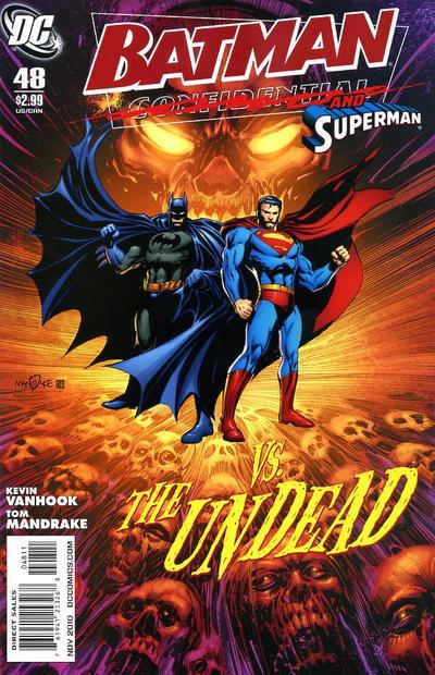 Cover for Batman Confidential (DC, 2007 series) #48