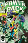 Cover for Power Pack (Marvel, 1984 series) #12 [Direct]