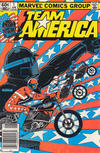 Cover for Team America (Marvel, 1982 series) #1 [Newsstand]