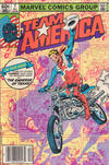 Cover for Team America (Marvel, 1982 series) #7 [Newsstand]