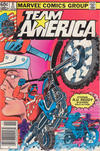 Cover for Team America (Marvel, 1982 series) #6 [Newsstand]