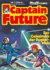 Cover for Captain Future (Bastei Verlag, 1981 series) #7