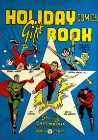 Cover Thumbnail for Holiday Comics Gift Book (Anglo-American Publishing Company Limited, 1943 series)