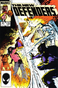 Cover Thumbnail for The Defenders (Marvel, 1972 series) #135 [Direct]