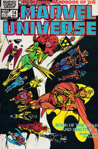 Cover Thumbnail for The Official Handbook of the Marvel Universe (Marvel, 1983 series) #14 [direct]