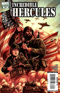Cover Thumbnail for Incredible Hercules (Marvel, 2008 series) #131 [1940's Variant Edition]