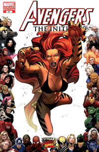 Cover Thumbnail for Avengers: The Initiative (Marvel, 2007 series) #27 [70th Anniversary Frame Variant]