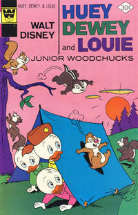 Cover Thumbnail for Walt Disney Huey, Dewey and Louie Junior Woodchucks (Western, 1966 series) #43 [Whitman Variant]