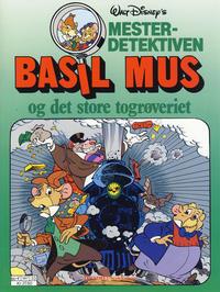 Cover Thumbnail for Mesterdetektiven Basil Mus (Hjemmet / Egmont, 1987 series) #[3] [Reutsendelse]